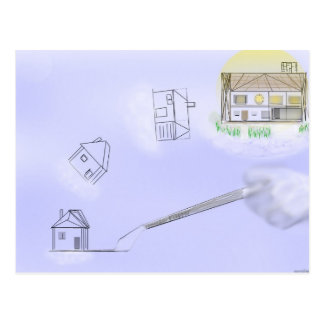 House flipper post card