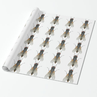 House Fly Bedazzled Wrapping Paper