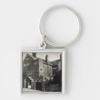 House for Edwin Long Keychain