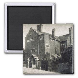 House for Edwin Long Magnet