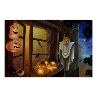 House for Halloween - Posters