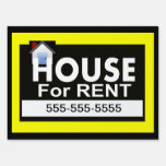 House for Rent Yard Sign