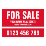 House for sale real estate double sided yard sign<br><div class='desc'>Eye catching House for sale or for rent real estate agent double sided yard sign. Left and right arrow optional. Create your own realty company road signage for open house, office suite sale, house viewing, foreclosure, land for sale, propertyies for lease, sold realestate, home for sale by owner etc. Personalizabe...</div>