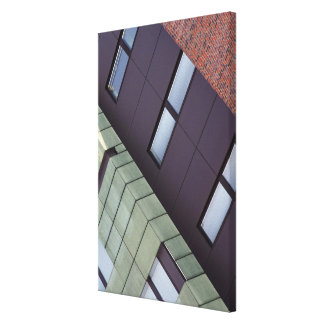house front canvas print