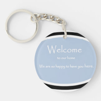 House Guests 101 Keychain