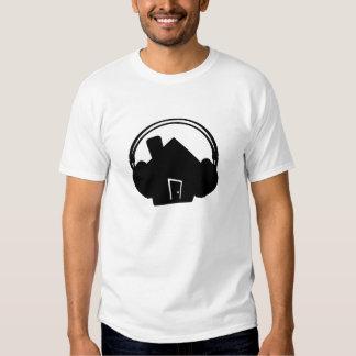 House-Headphones-SilhouetteDoor Tee Shirt