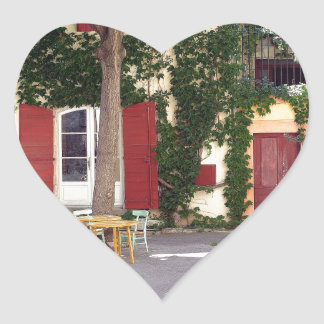 House Heart Sticker