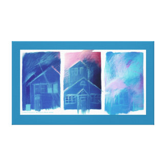 House & Home Canvas Print