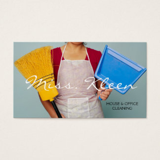 House Home Cleaning, Cleaners Business Card