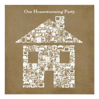 House Home Housewarming Photo Party Invitation