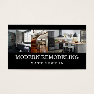 House Home Remodeling Contractor Construction Business Card