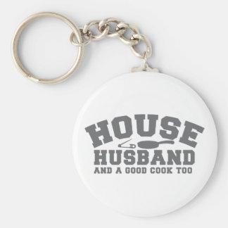 House Husband and a good cook too Keychain