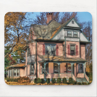 House - I want that Big Pink House Mouse Pad