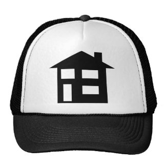 house icon hats