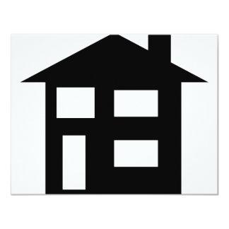 house icon custom invitations