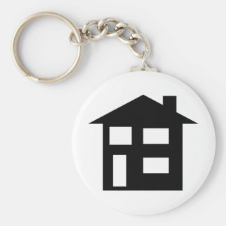 house icon key chains
