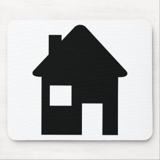 House Icon Mouse Pad