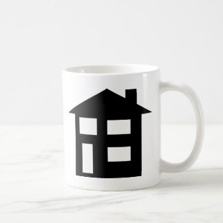 house icon coffee mug
