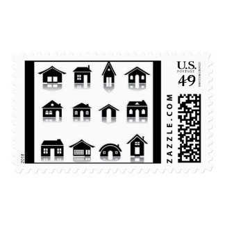 house-icon-set2 timbre postal