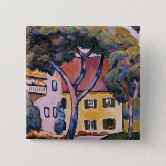 House in a Landscape Button