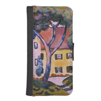 House in a Landscape iPhone SE/5/5s Wallet Case