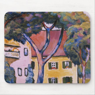 House in a Landscape Mouse Pad