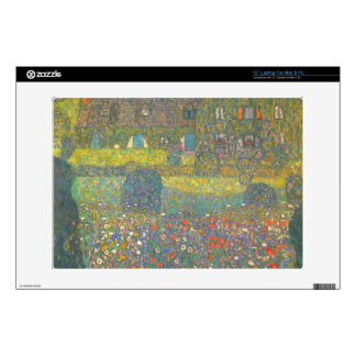 House in Attersee by Gustav Klimt Decal For Laptop
