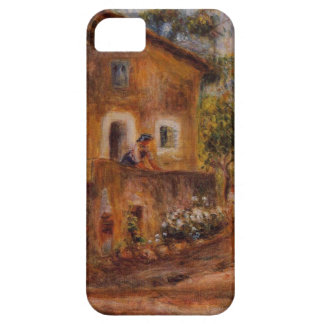 House in Collett at Cagnes by Pierre-Auguste Renoi iPhone SE/5/5s Case