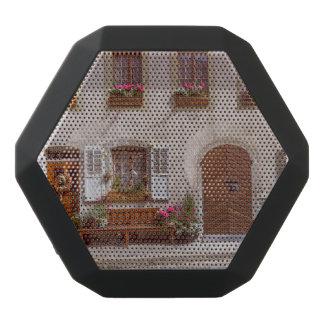 House in Gruyere village, Switzerland Black Bluetooth Speaker