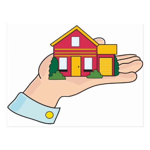 House in Hand Post Cards