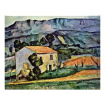 House In Provence By Paul Cézanne (Best Quality) Personalized Invitation