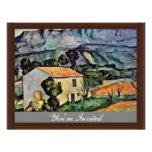 House In Provence By Paul Cézanne (Best Quality) Invitations