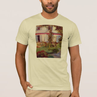 House in Rueil by Edouard Manet T-Shirt
