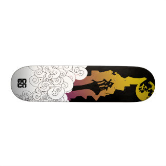 house in the clouds skate board