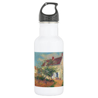 House in the Country by Gustave Loiseau 18oz Water Bottle