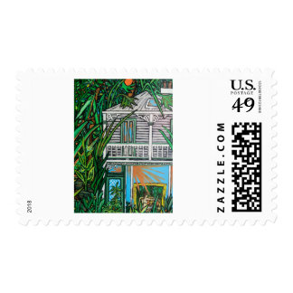House In The Garden Postage