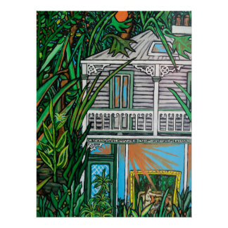House In The Garden Poster