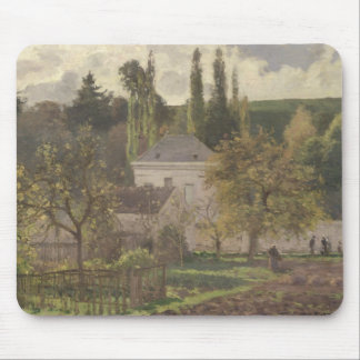 House in the Hermitage, Pontoise, 1873 Mouse Pad