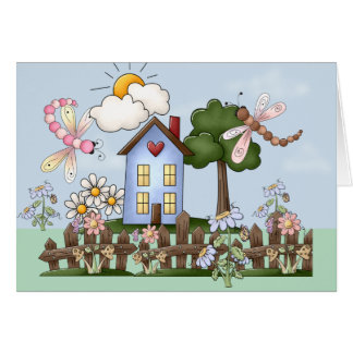 House in the Sunshine Mother's Day Card