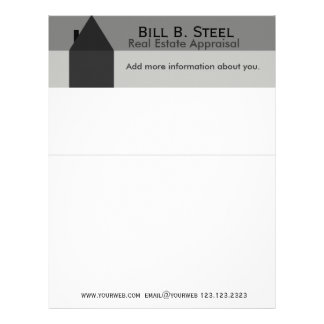House Industry Realtor Construction Home Letterhead