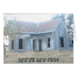 House.jpg, We've Moved! Greeting Card