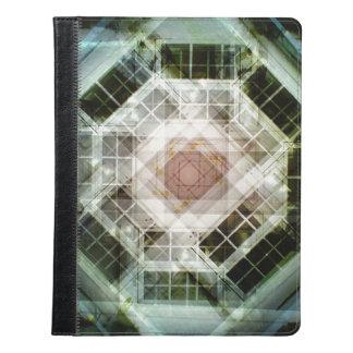 house kaleidoscope door iPad case