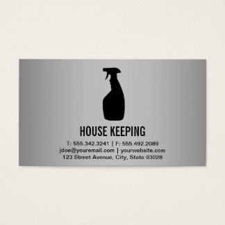 House Keeping Business Card