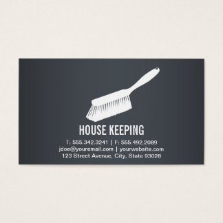 House Keeping / Cleaning Supplies Business Card
