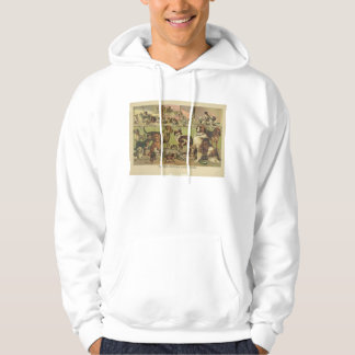 House Kennel and Field by Currier & Ives 1893 Hoodies