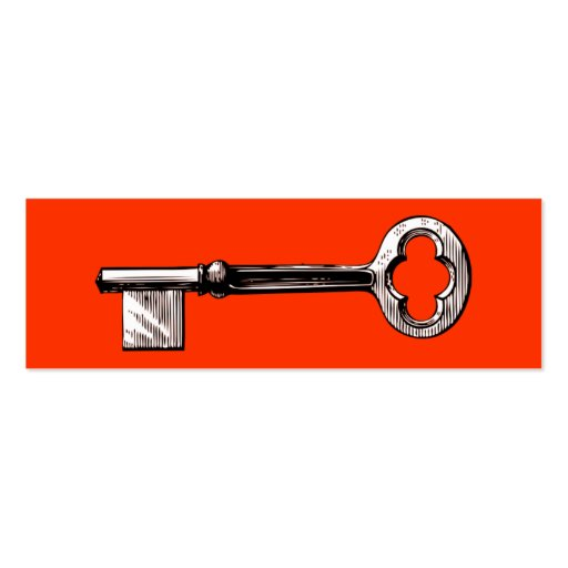House Key Real Estate Business Card Template