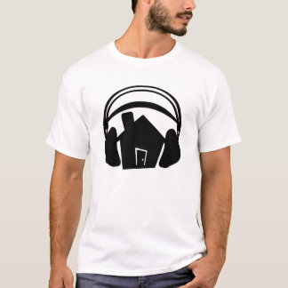 House-Large-Headphones-Silhouette T-Shirt