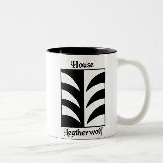 House Leatherwolf Two-Tone Coffee Mug