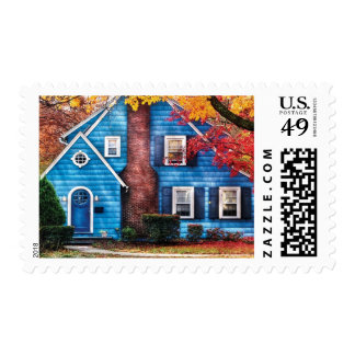 House - Little Dream House Postage Stamp