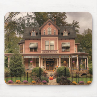 House - Living doll house Mouse Pad